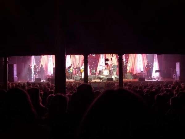 Ryman Auditorium, section: MF-5, row: X, seat: 1