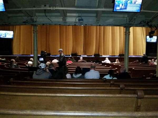 Ryman Auditorium, section: MF-5, row: U, seat: 8