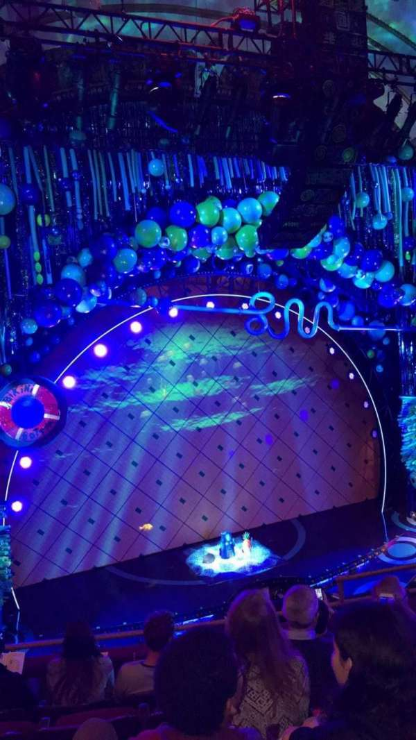 Palace Theatre (Broadway), section: LMEZZ, row: E, seat: 9