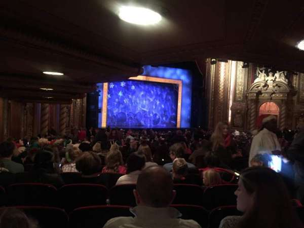 Wang Theatre, section: Orchestra Box L4, row: 1, seat: 1