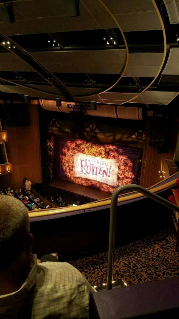 Ahmanson Theatre, section: Balcony, row: C, seat: 2