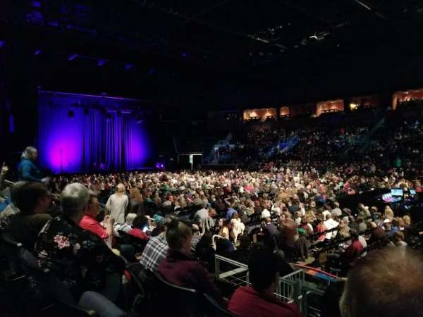 1stBank Center, section: 105, row: 7, seat: 4
