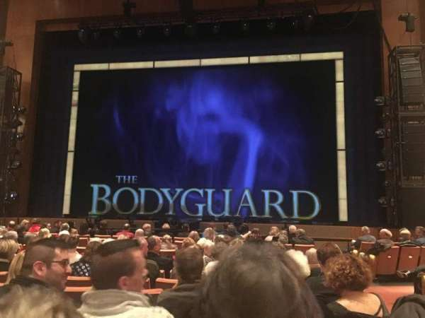 Eccles Theater, section: Orchestra Center, row: L, seat: 2