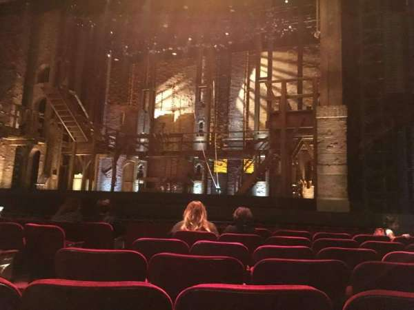 Hollywood Pantages Theatre, section: OrchRCenter, row: G, seat: 204