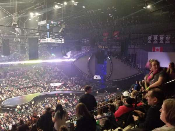 Van Andel Arena, section: 224, row: M, seat: 5