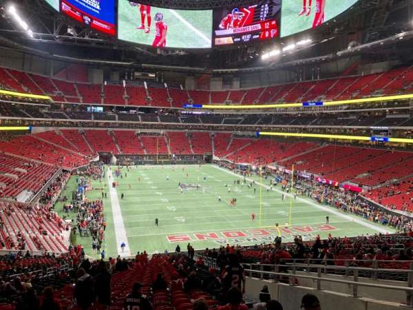 Mercedes-Benz Stadium, section: 103, row: 55, seat: 4