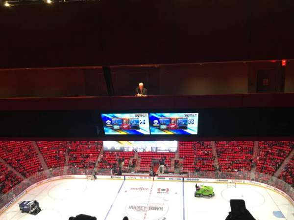 Little Caesars Arena, section: 211, row: 12, seat: 6