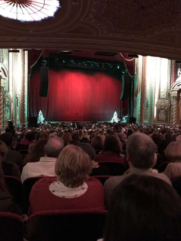 Wang Theatre, section: Orch LC, row: CC, seat: 27