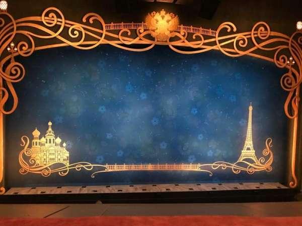 Broadhurst Theatre, section: Mezzanine C, row: A, seat: 104