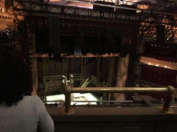 CIBC Theatre, section: Balcony L, row: B, seat: 1