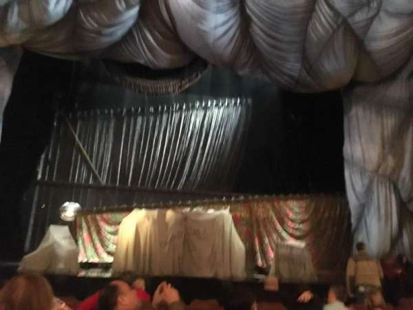 Majestic Theatre, section: Orchestra C, row: G, seat: 106