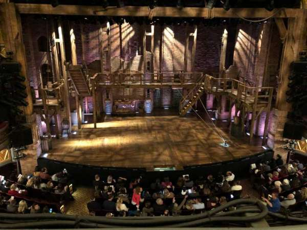 Richard Rodgers Theatre, section: Front Mezzanine C, row: A, seat: 110