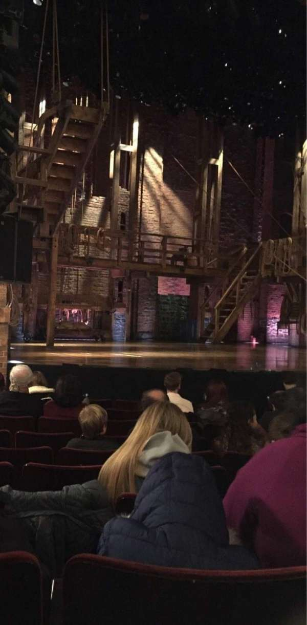 Richard Rodgers Theatre, section: Orchestra L, row: H, seat: 15