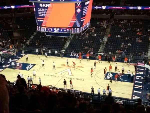 John Paul Jones Arena, section: 302, row: U, seat: 8