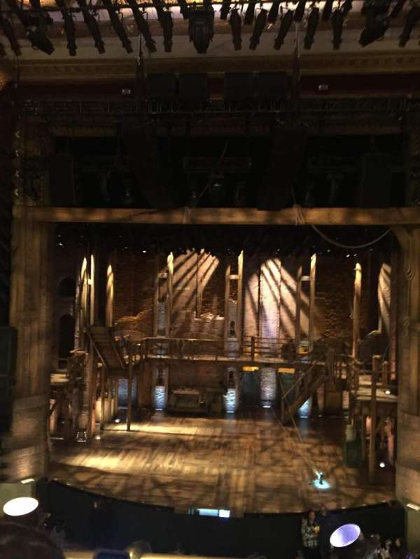CIBC Theatre, section: Mezzanine RC, row: B, seat: 304