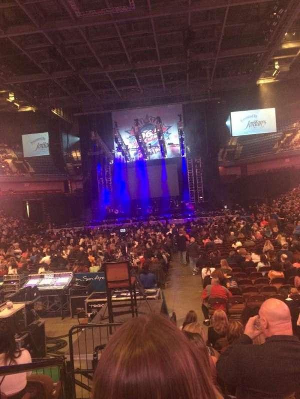 Mohegan Sun Arena, section: 19, row: G, seat: 10