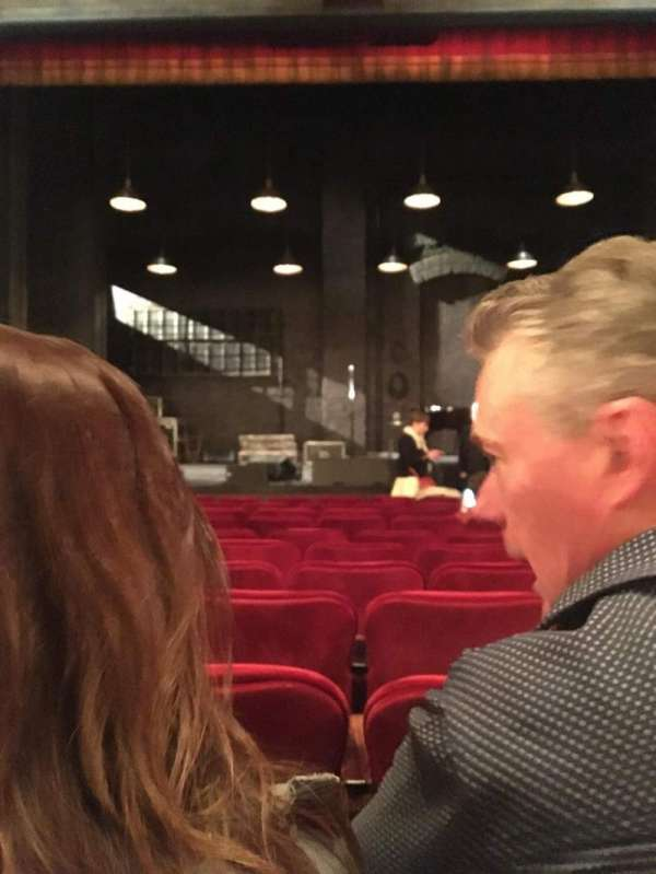 Walter Kerr Theatre, section: Orchestra, row: L, seat: 113