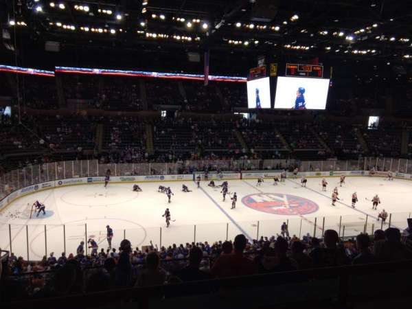 Old Nassau Veterans Memorial Coliseum, section: 205, row: 2, seat: 9