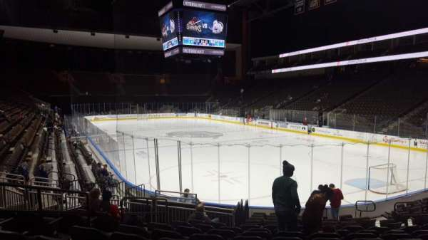 VyStar Veterans Memorial Arena, section: 110, row: N, seat: 12