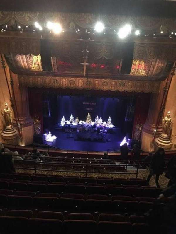 Beacon Theatre Section Upper Balcony Row M Seat 110