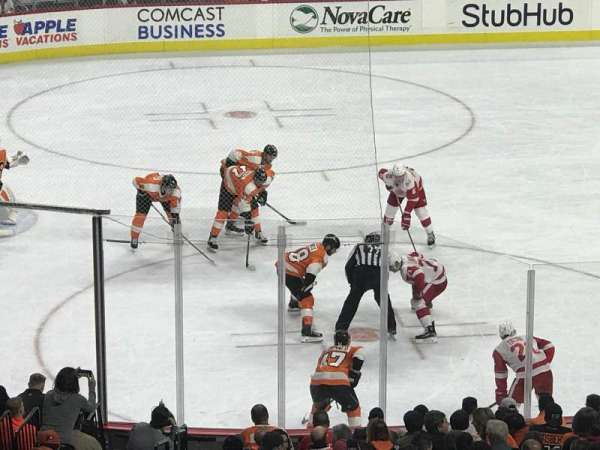 Wells Fargo Center, section: Club Box 24, row: 5, seat: 3