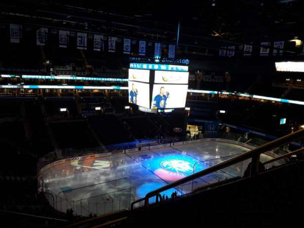 Barclays Center, section: 211, row: 10, seat: 3