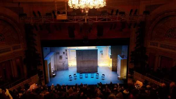 Ethel Barrymore Theatre, section: Rear Mezzanine C, row: D, seat: 107