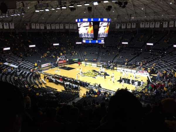 Charles Koch Arena, section: 119, row: 34, seat: 13