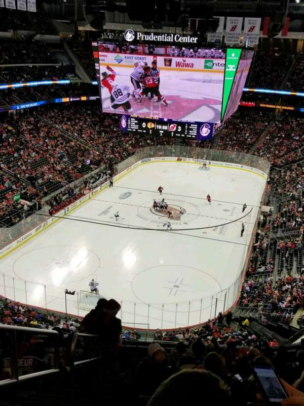 Prudential Center, section: 122, row: 13, seat: 17