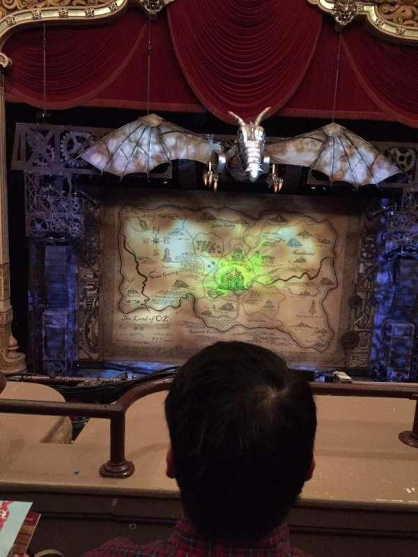 James M. Nederlander Theatre, section: LOGE C, row: B, seat: 302
