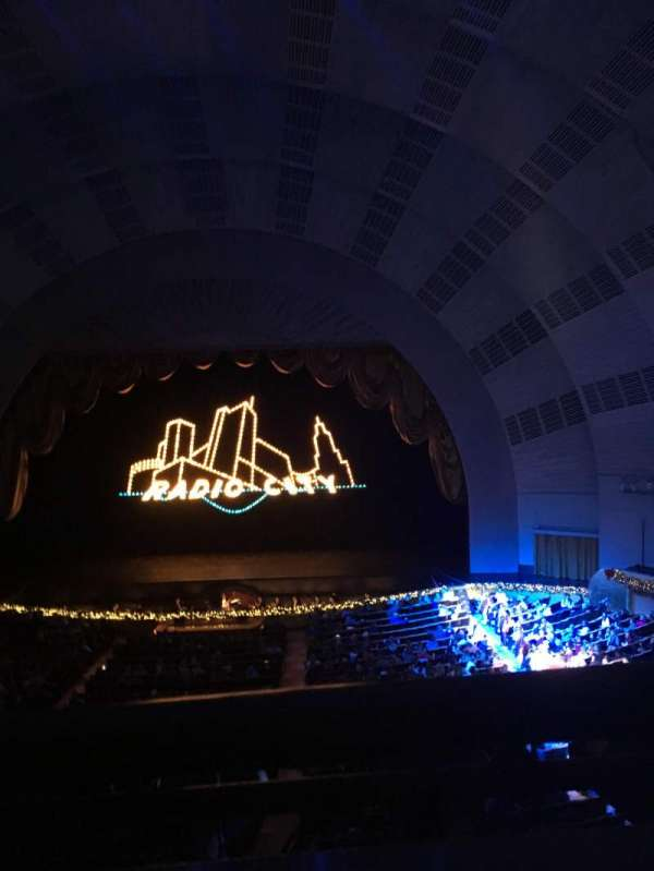 Radio City Music Hall, section: 2nd Mezzanine 3, row: A, seat: 310