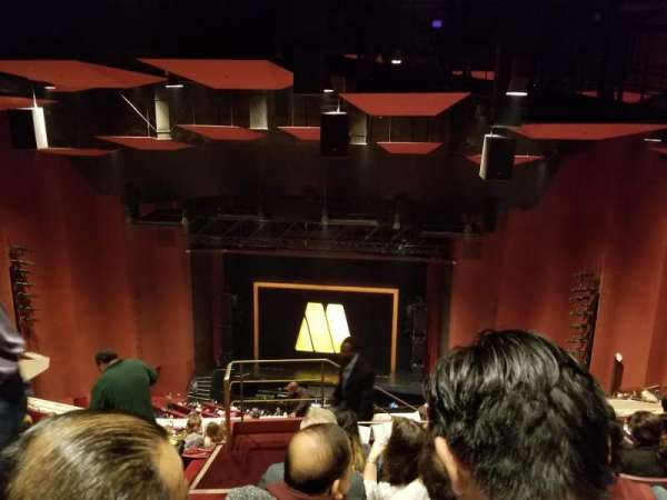 San Diego Civic Theatre, section: Rear balcony, row: AA, seat: 18