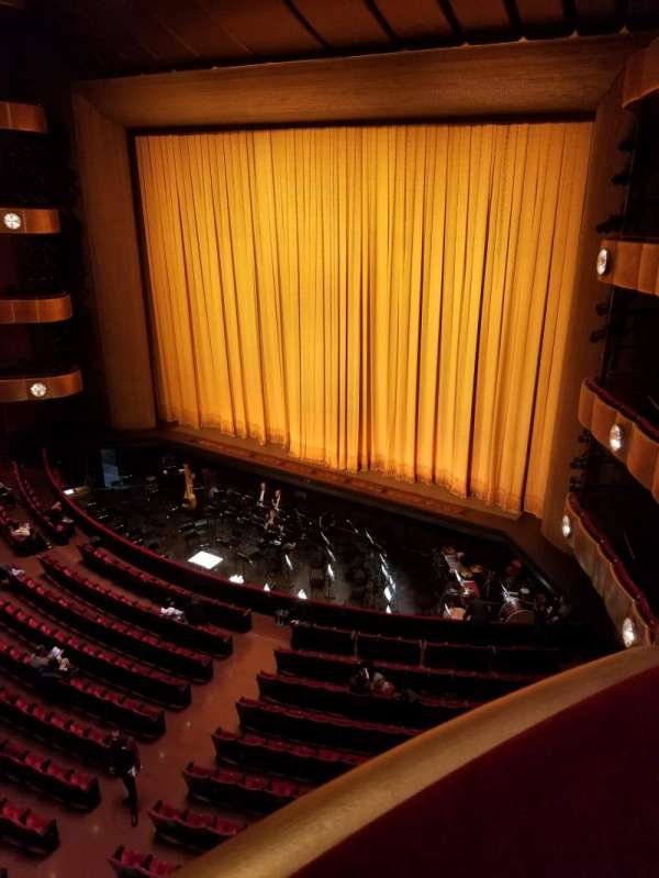 David H. Koch Theater, section: 3rd ring, row: AA, seat: 2