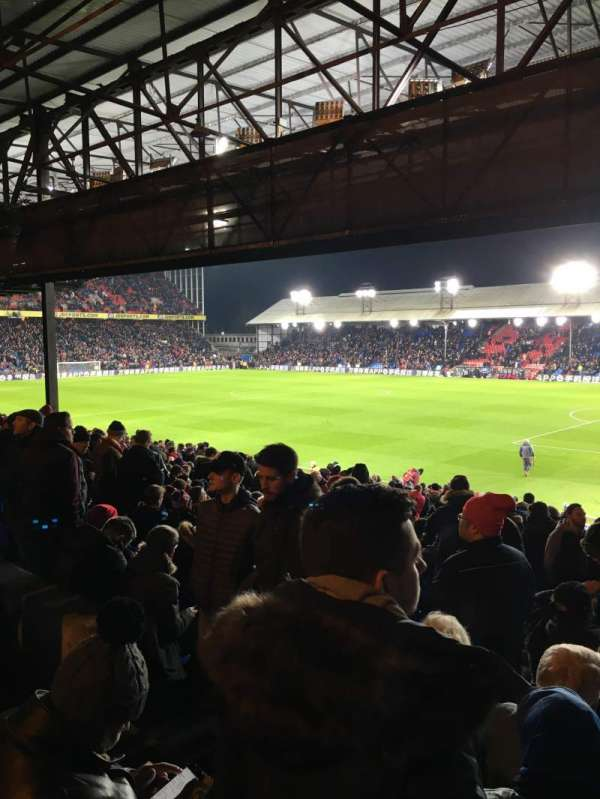 Selhurst Park, section: R, row: 29, seat: 12