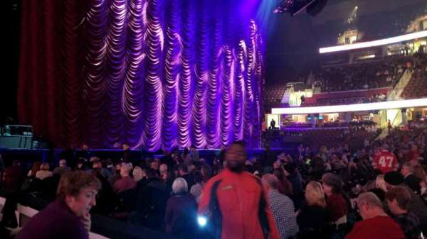 Quicken Loans Arena, section: 125, row: 2, seat: 1