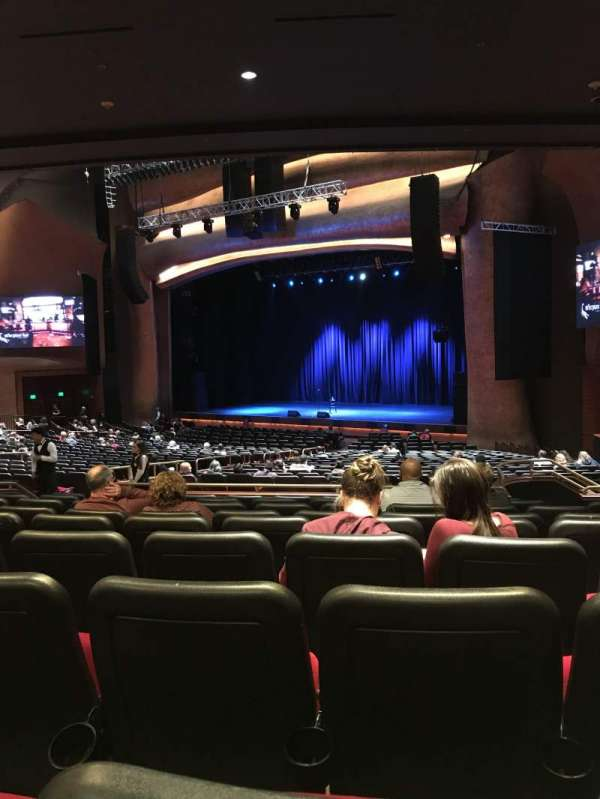 The Grand Theater at Foxwoods, section: PRTRGT, row: JJ, seat: 22