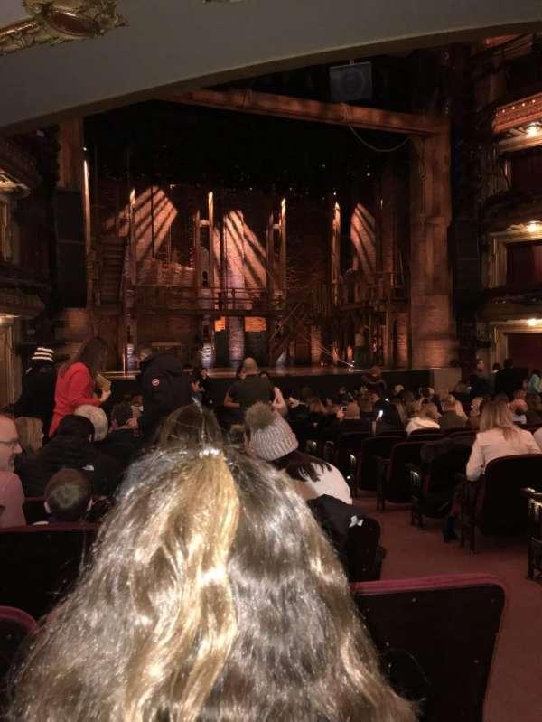 CIBC Theatre, section: Orchestra L, row: U, seat: 1