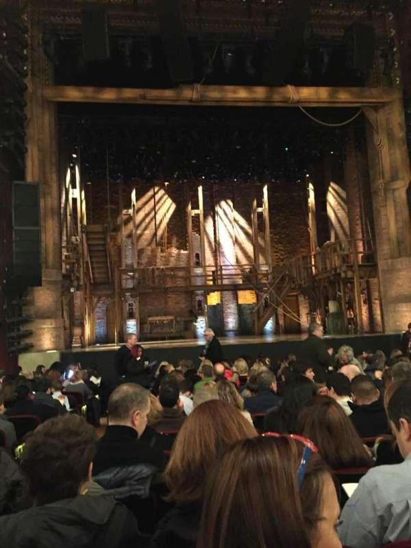 CIBC Theatre, section: Orchestra C, row: R, seat: 101