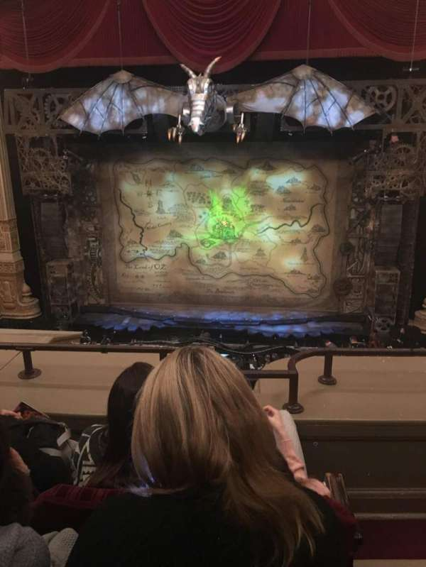 Oriental Theatre, section: Loge, row: C, seat: 310