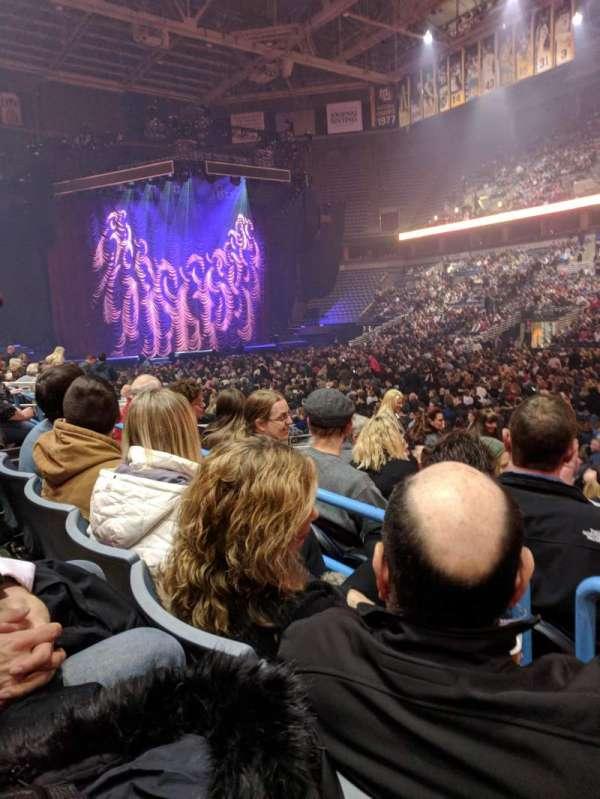 BMO Harris Bradley Center, section: 212, row: K, seat: 6