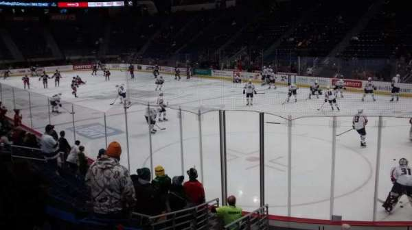 XL Center, section: 112, row: M, seat: 9