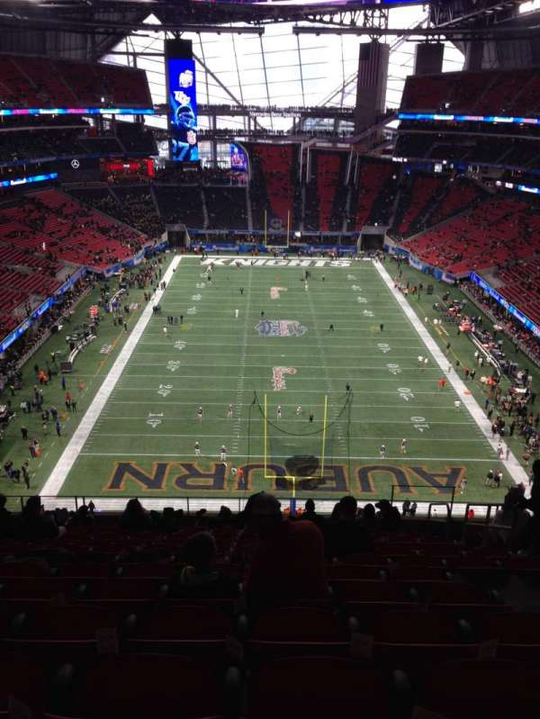 Mercedes-Benz Stadium, section: 326, row: 14, seat: 5