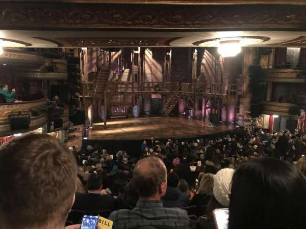 Richard Rodgers Theatre, section: Orchestra L, row: S, seat: 17