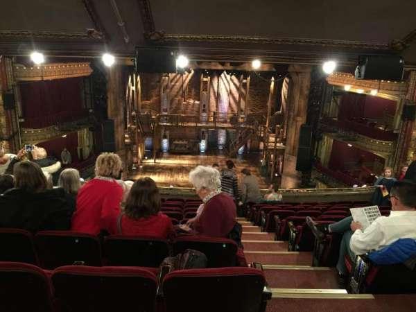 CIBC Theatre, section: Mezzanine LC, row: L, seat: 301