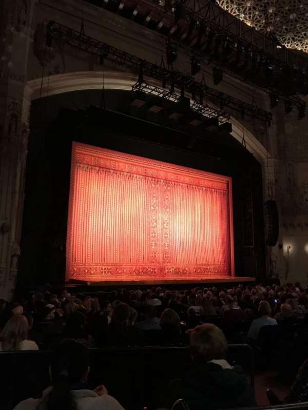 Orpheum Theatre (San Francisco), section: Orchestra L, row: U, seat: 13