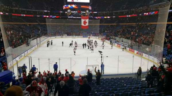 KeyBank Center, section: 111, row: 18, seat: 16