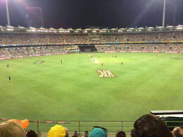The Gabba, section: 68, row: EE, seat: 104