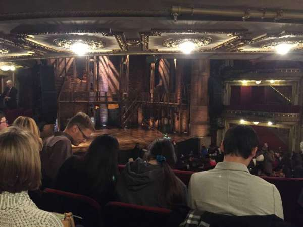 CIBC Theatre, section: Dress Circle L, row: C, seat: 3