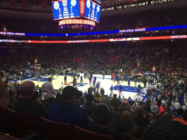 Wells Fargo Center, section: 115, row: 21, seat: 7