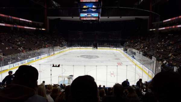 VyStar Veterans Memorial Arena, section: 108, row: R, seat: 9